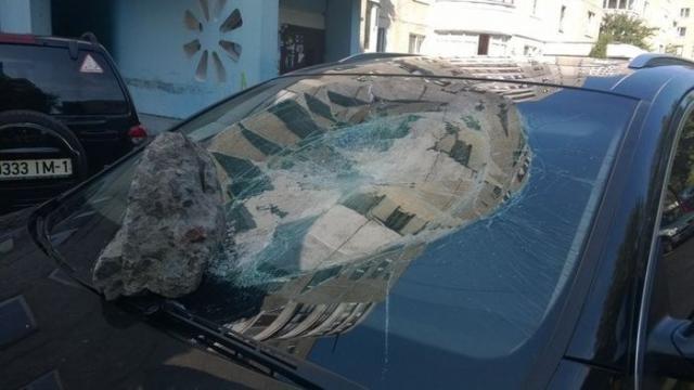 Месть за неудачную парковку (4 фото)