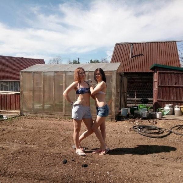 Девушки из провинции (24 фото)