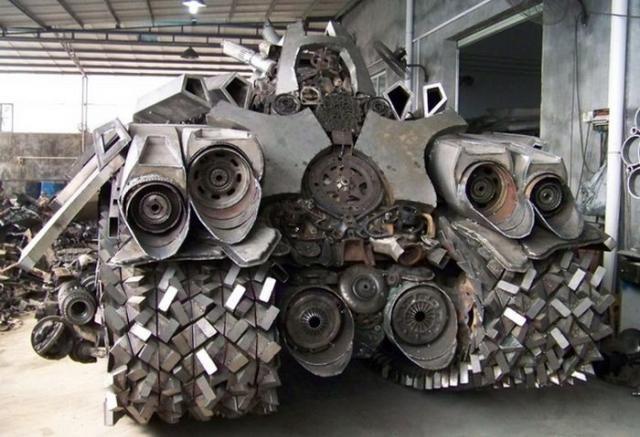 Танк, который построил китаец (8 фото)