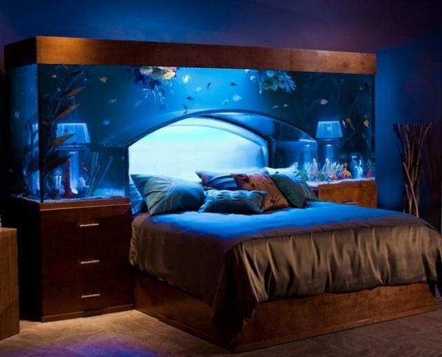 Оригинальные идеи для изголовья кровати (23 фото)