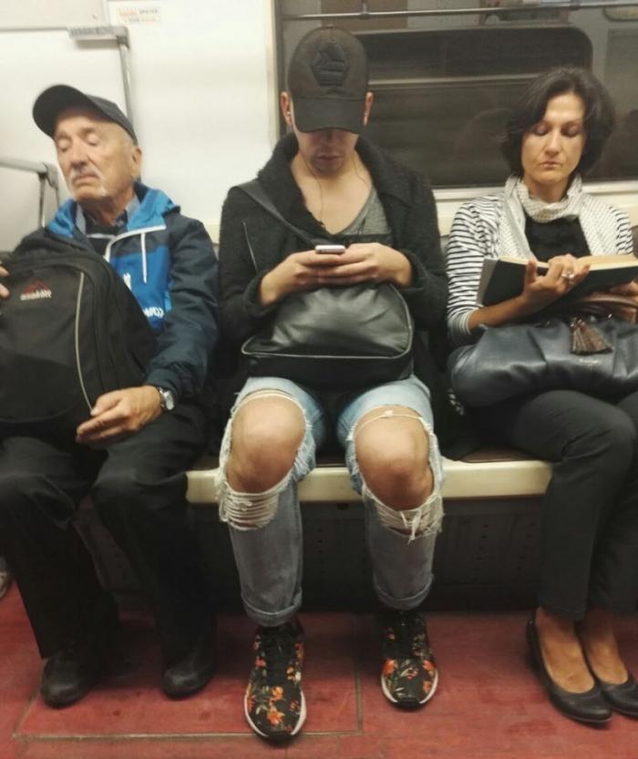 Модники из российского метрополитена (40 фото)