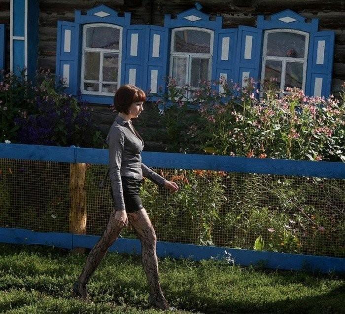 Деревенские креативные фотомодели (19 фото)