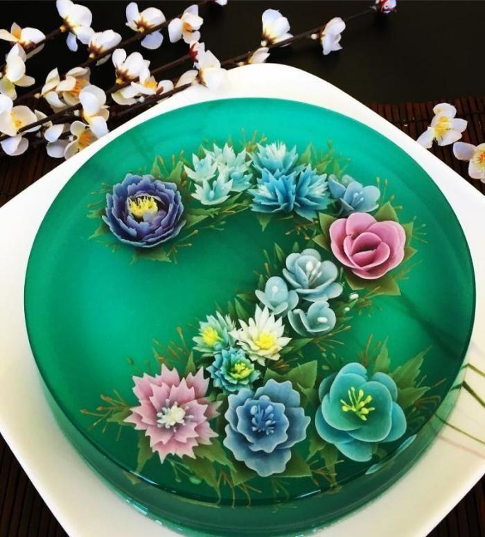Офигительные трехмерные торты из желе, которые жалко есть (22 фото)