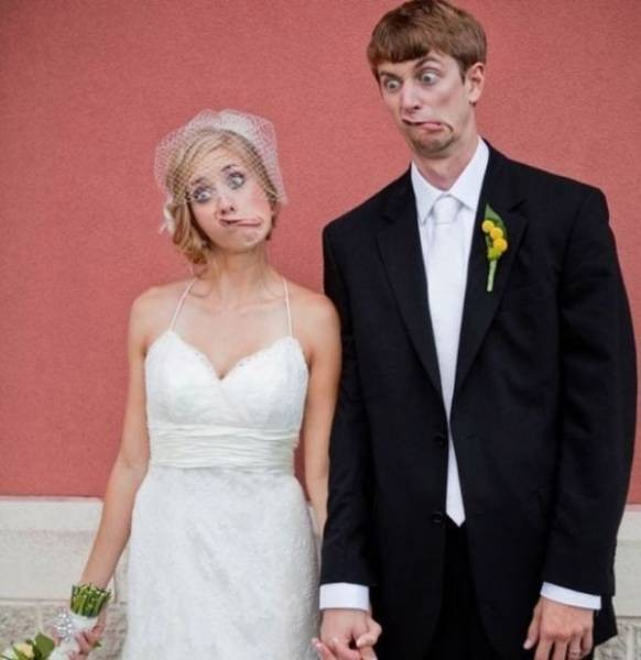 Запоминающиеся свадебные снимки (50 фото)