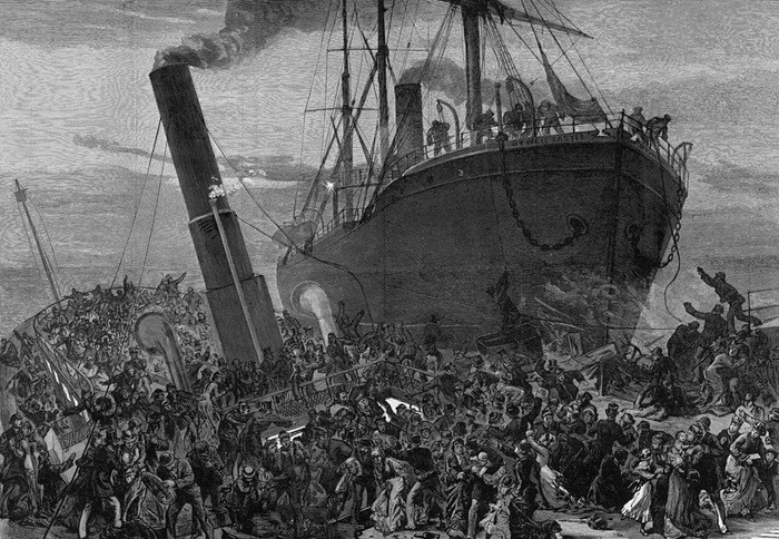 Топ 17 самых известных и трагических кораблекрушений (17 фото)