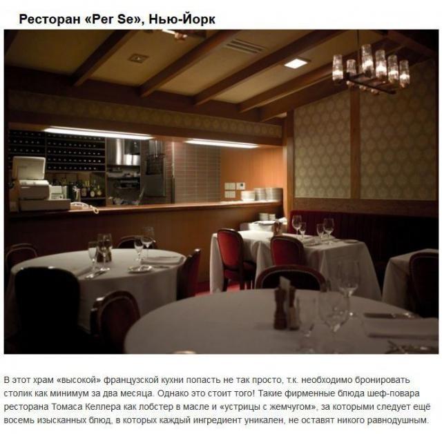 ТОП самых дорогих ресторанов мира (8 фото)