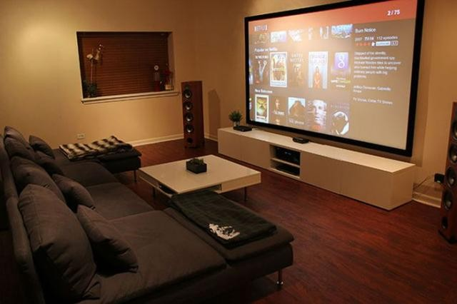 Уникальные кинотеатры в домашних условиях (16 фото)