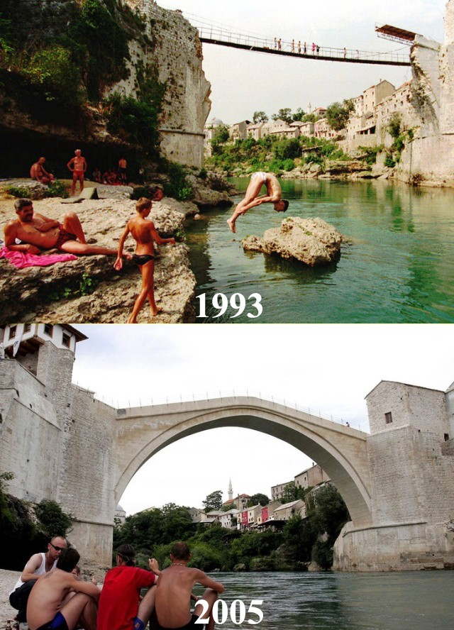 Как с годами изменились города мира: тогда и сейчас (13 фото)