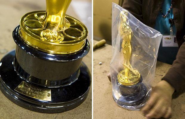 Как делают статуэтку Оскара (12 фото)