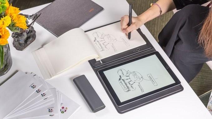 Ручной сканер от Xiaomi оцифрует бумажные записи и наброски (6 фото)