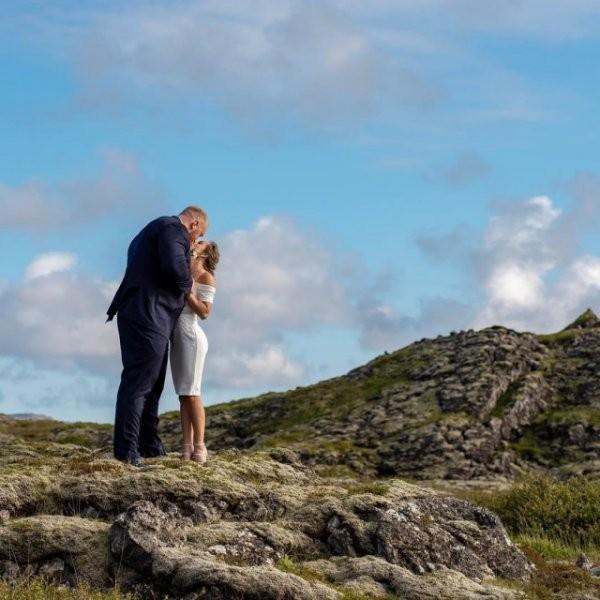 Гора из игры престолов и его жена (9 фото)