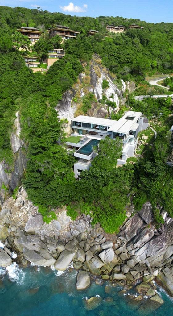 Вилла-мечта на острове Пхукет, Тайланд (11 фото)