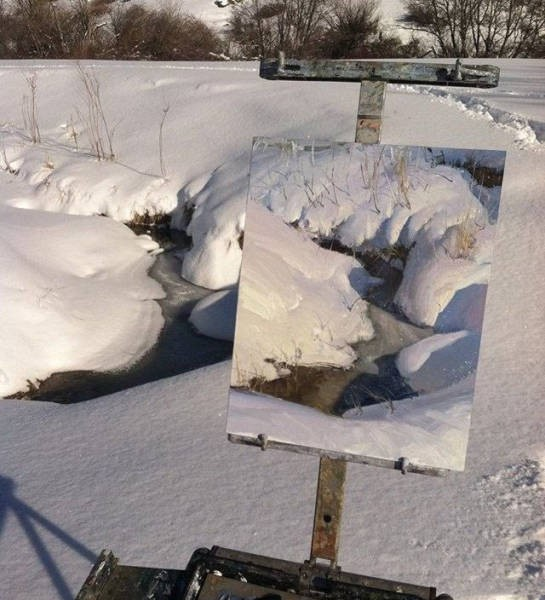 Зима уже пришла (44 фото)