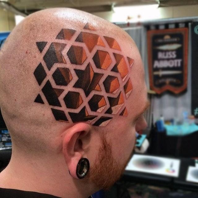 3D-татуировки и оптические иллюзии на коже (27 фото)