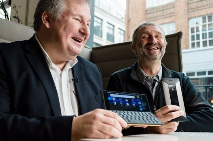 Забытая QWERTY-клавиатура возвращается в смартфоны (11 фото)