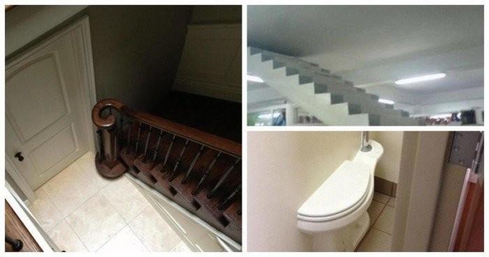 Нелепые ошибки строителей (12 фото)