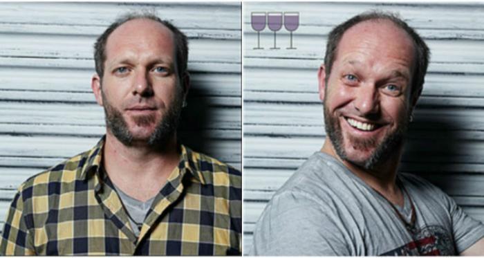Как меняет людей алкоголь (16 фото)