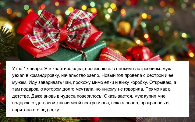 Приятные моменты на Новый год (14 фото)
