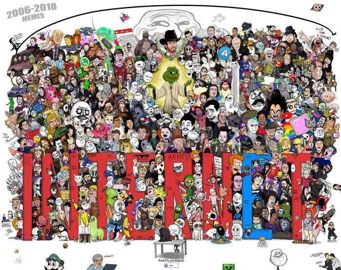 Самые известные мемы с 2006 по 2018 год (5 картинок)