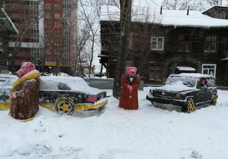 Креативные снеговики (27 фото)