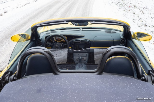 Необычный Запорожец, построенный на базе спортивного Porsche (18 фото)