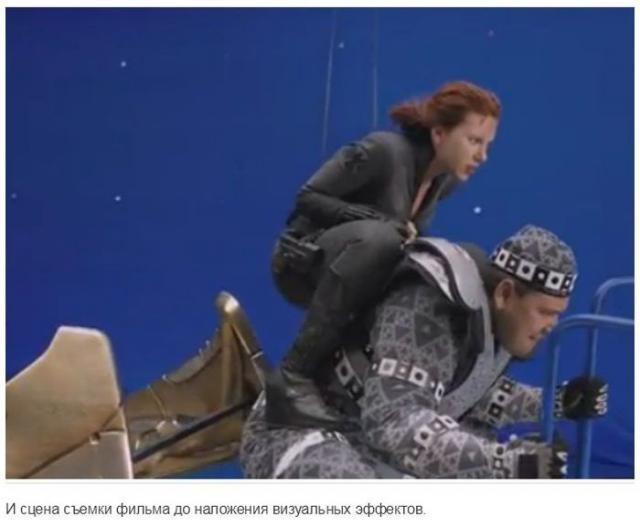 Сцены из современного кино без эффектов наложения (35 фото)