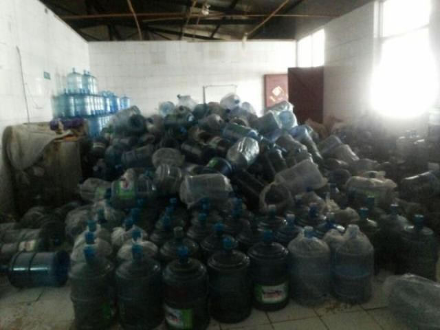 Условия санитарии в Китае (9 фото)