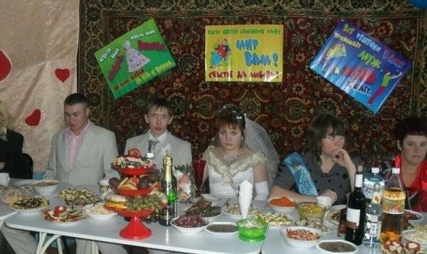 Романтика деревенских свадеб (20 фото)
