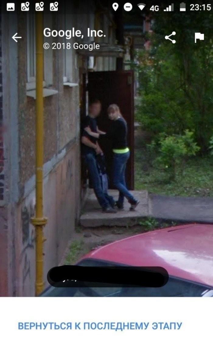 Неожиданные кадры на Google Maps, которые вас удивят (20 фото)
