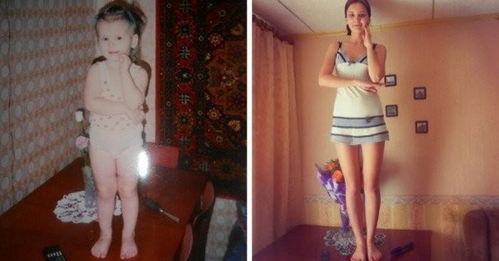 Фото людей на которых они выглядели тогда и сейчас (15 фото)