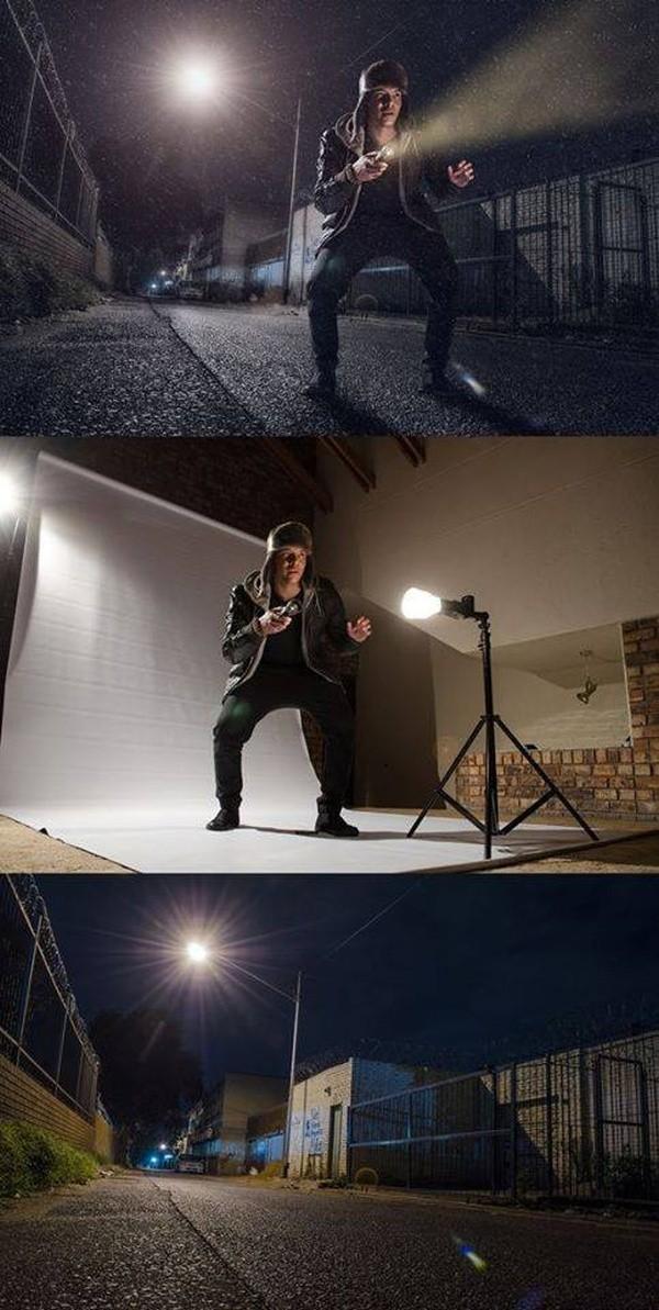 Как делаются постановочные фотографии (12 фото)