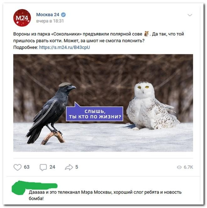 Приколы из социальных сетей (26 фото)