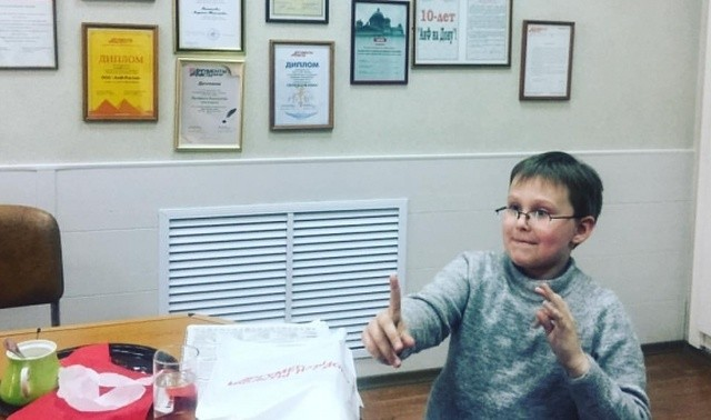 Необычный 10-летний мальчик из Ростова по имени Миша Попов (3 фото)