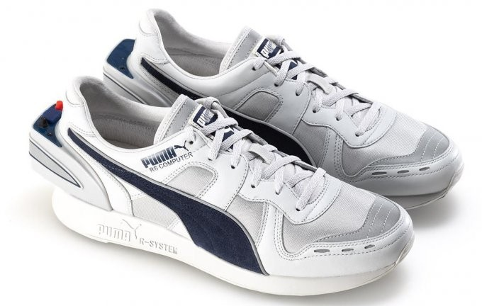 Puma RS-Computer Shoe: ретро-кроссовки с шагомером и Bluetooth (7 фото