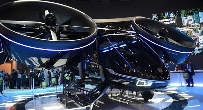 """Электрический """"вертолет"""", который будет перевозить пассажиров (7 фото)"""
