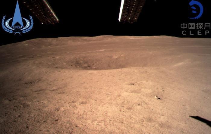 Панорамные снимки обратной стороны Луны (4 фото)