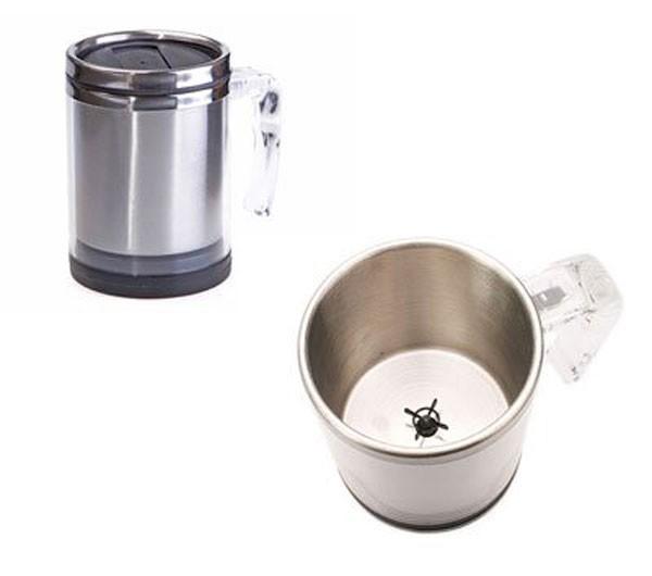 Чашка с пропеллером – забудьте о чайных ложечках (2 фото)