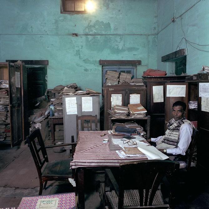 Индийские офисные работники (9 фото)