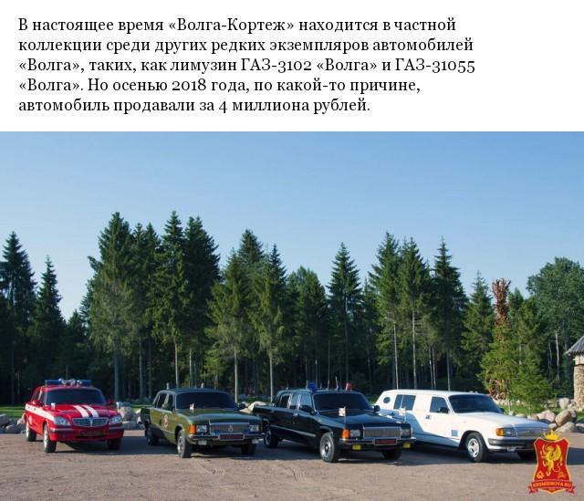 """""""Волга-Кортеж"""" уникальный лимузин на базе ГАЗ-31029 (10 фото)"""
