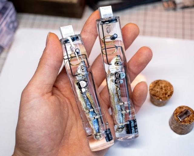 Необычная USB-флешка с селедкой (4 фото)