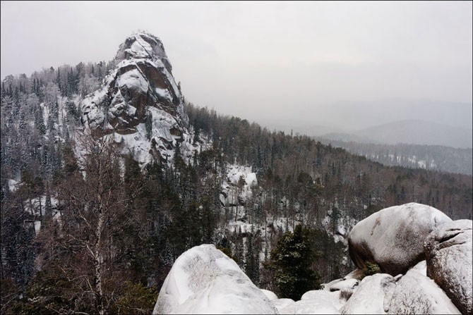 Красноярские столбы зимой (32 фото)
