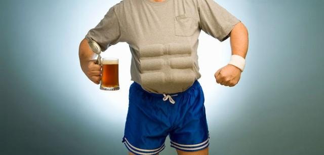 Может ли алкоголь откладываться в жир? (9 фото)