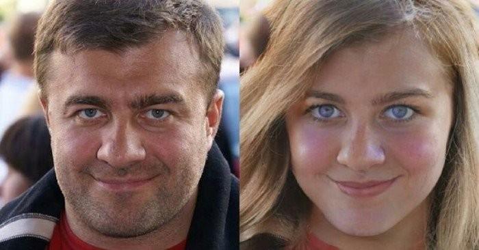 Нейросеть показала какими будут российские актеры в роли женщин (16 фото)