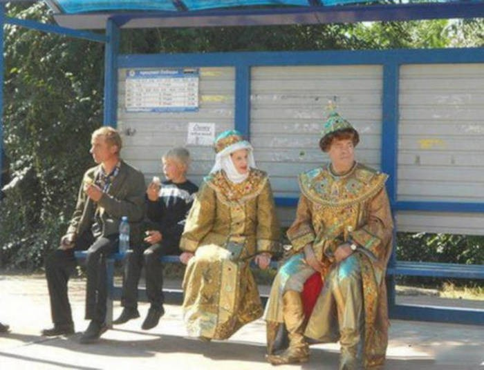 Фото, которые можно сделать только в России (23 фото)