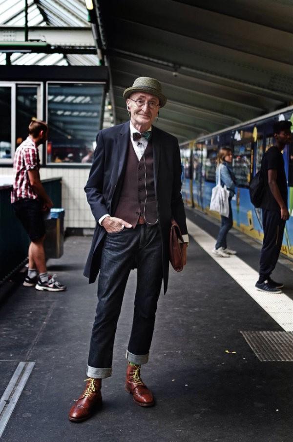 Пожилой модник из Германии (13 фото)