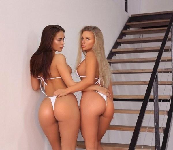 Девушки в белом нижнем белье (48 фото)