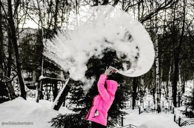 """""""Дубакчеллендж"""" в исполнении жителей Сибирского региона (12 фото)"""