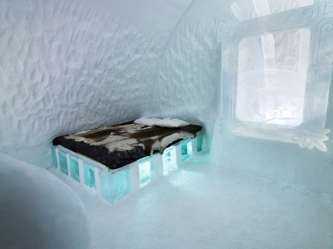 Самый большой ледяной отель в мире (25 фото)