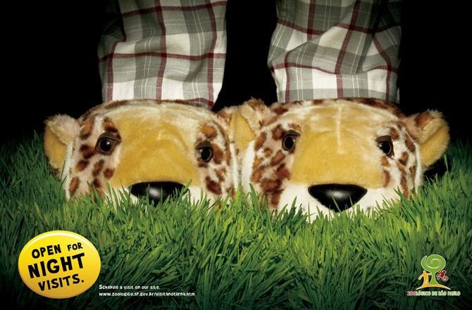 Креативная реклама зоопарков (40 фото)