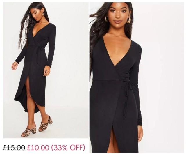 Заказанное в сети платье удивило покупательницу (2 фото)